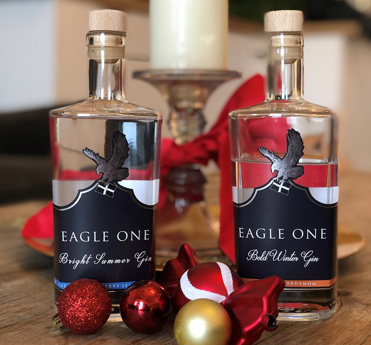 Eagle One gins from Cornwall