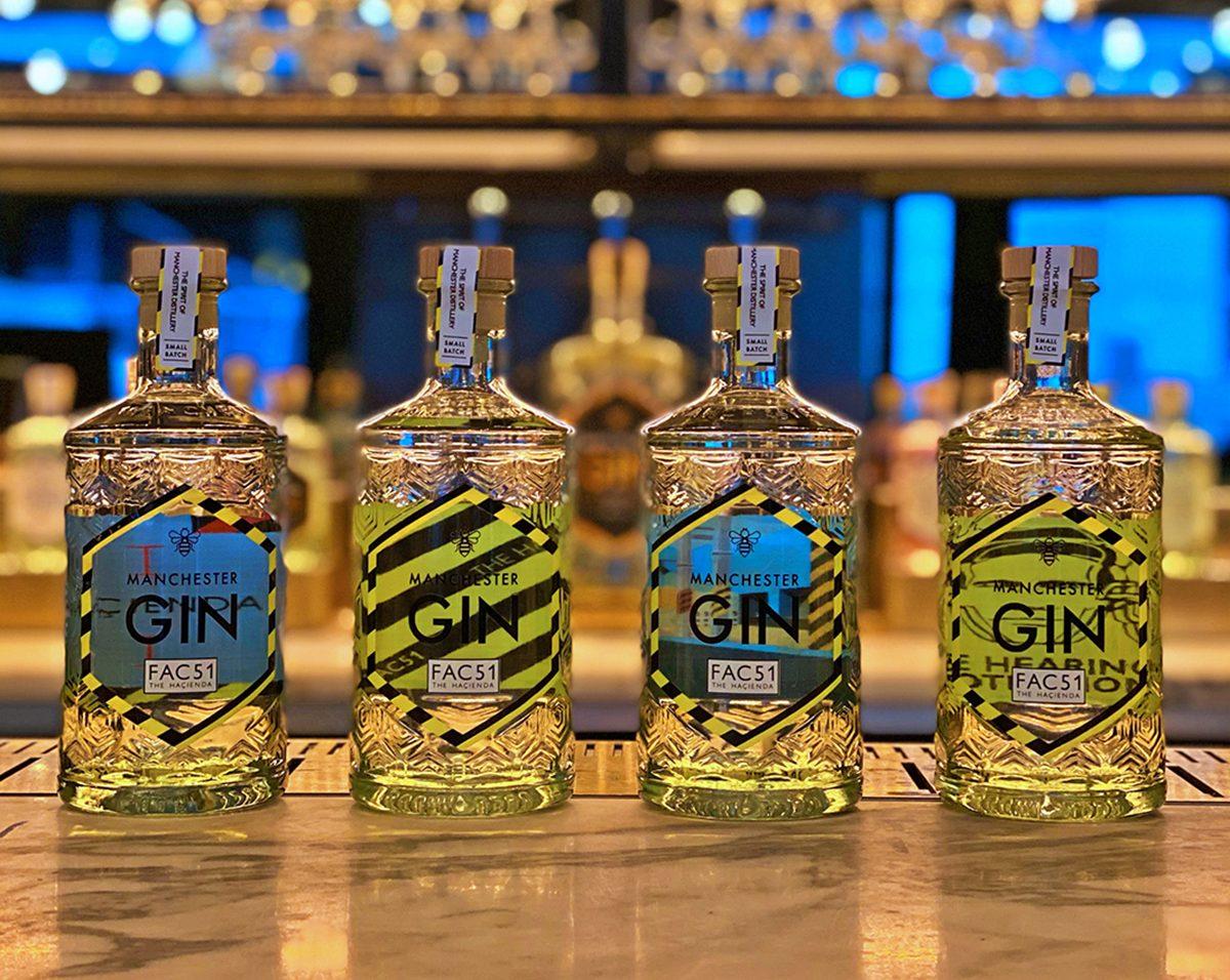 The Manchester Gin Hacienda range