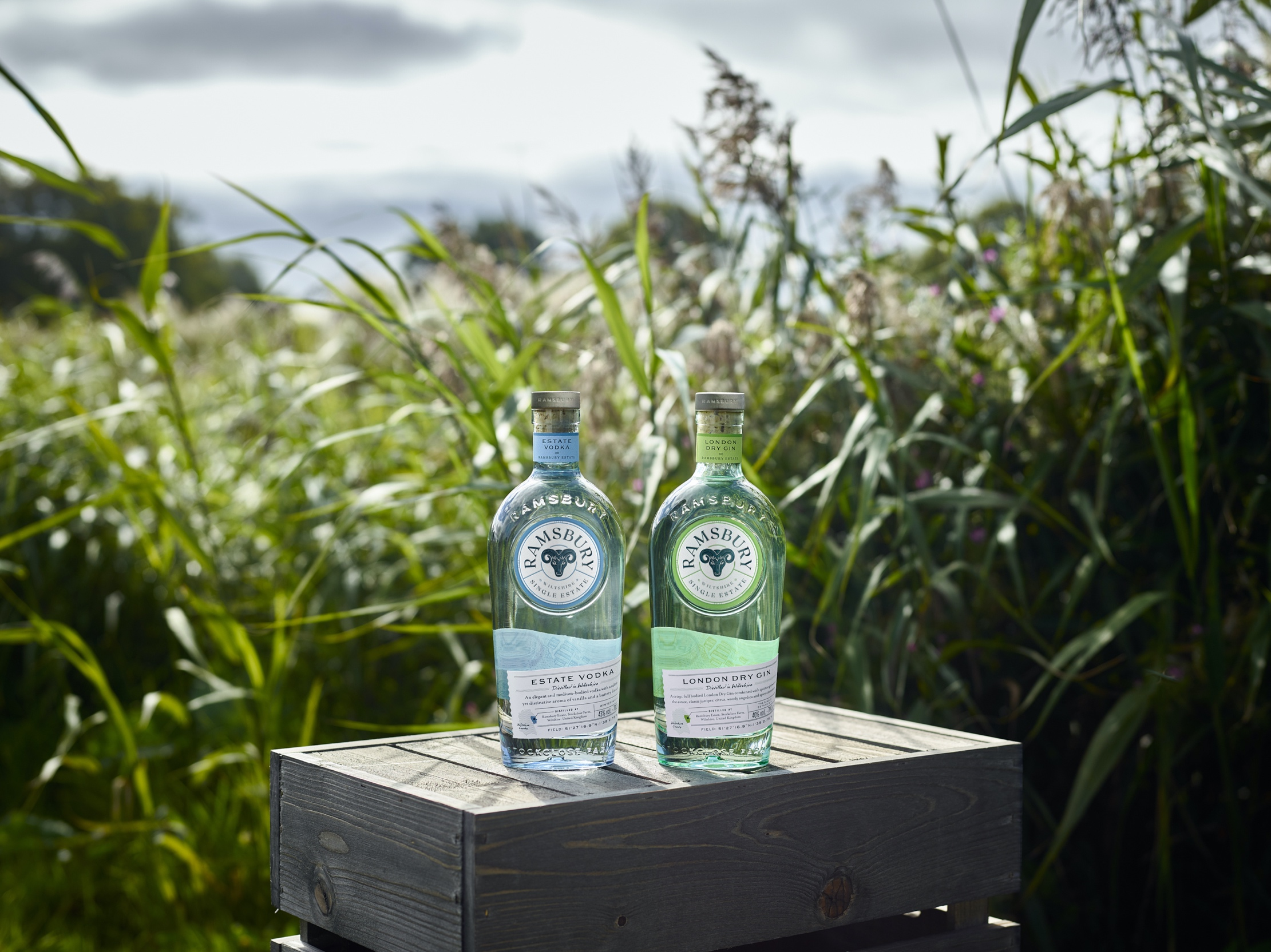 Ramsbury Single Estate Spirits new bottles