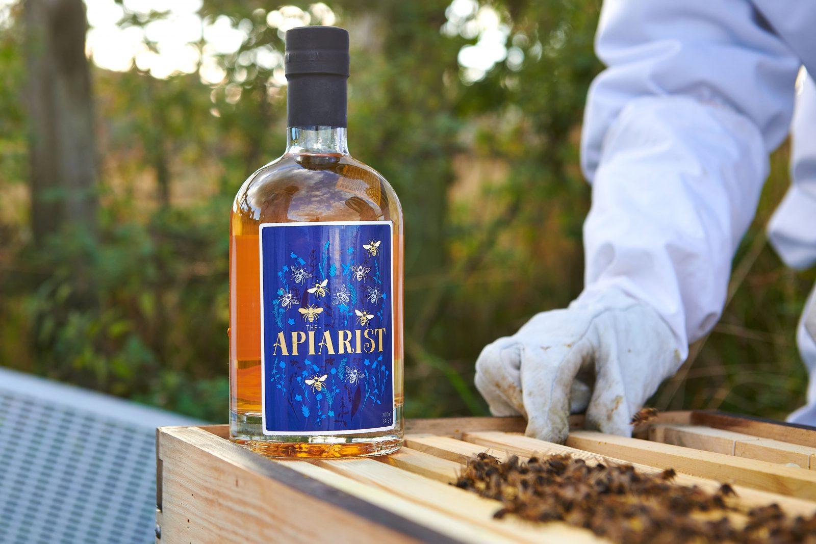 The Apiarist gin bottle