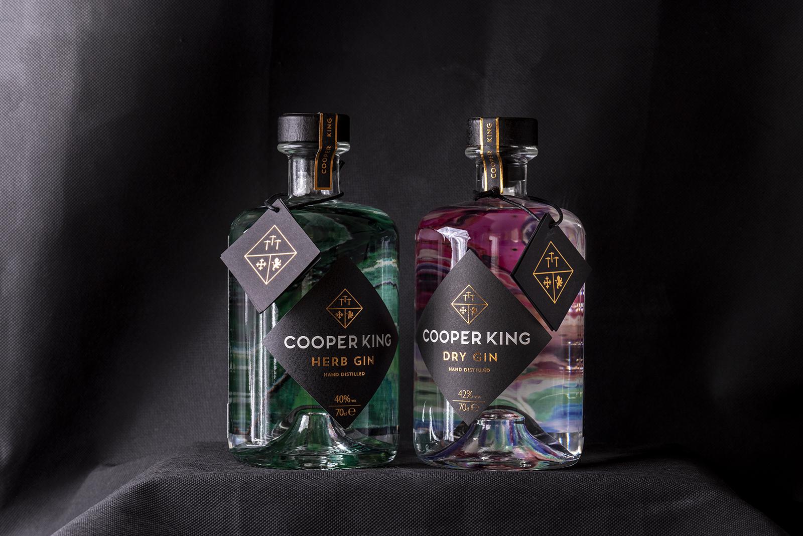 Cooper King Distillery gins