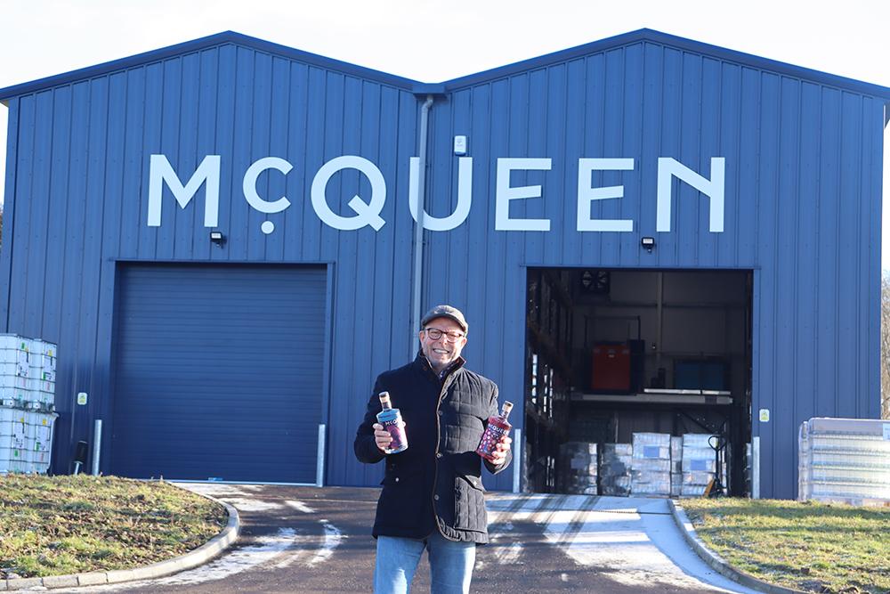 McQueen Gin bottles