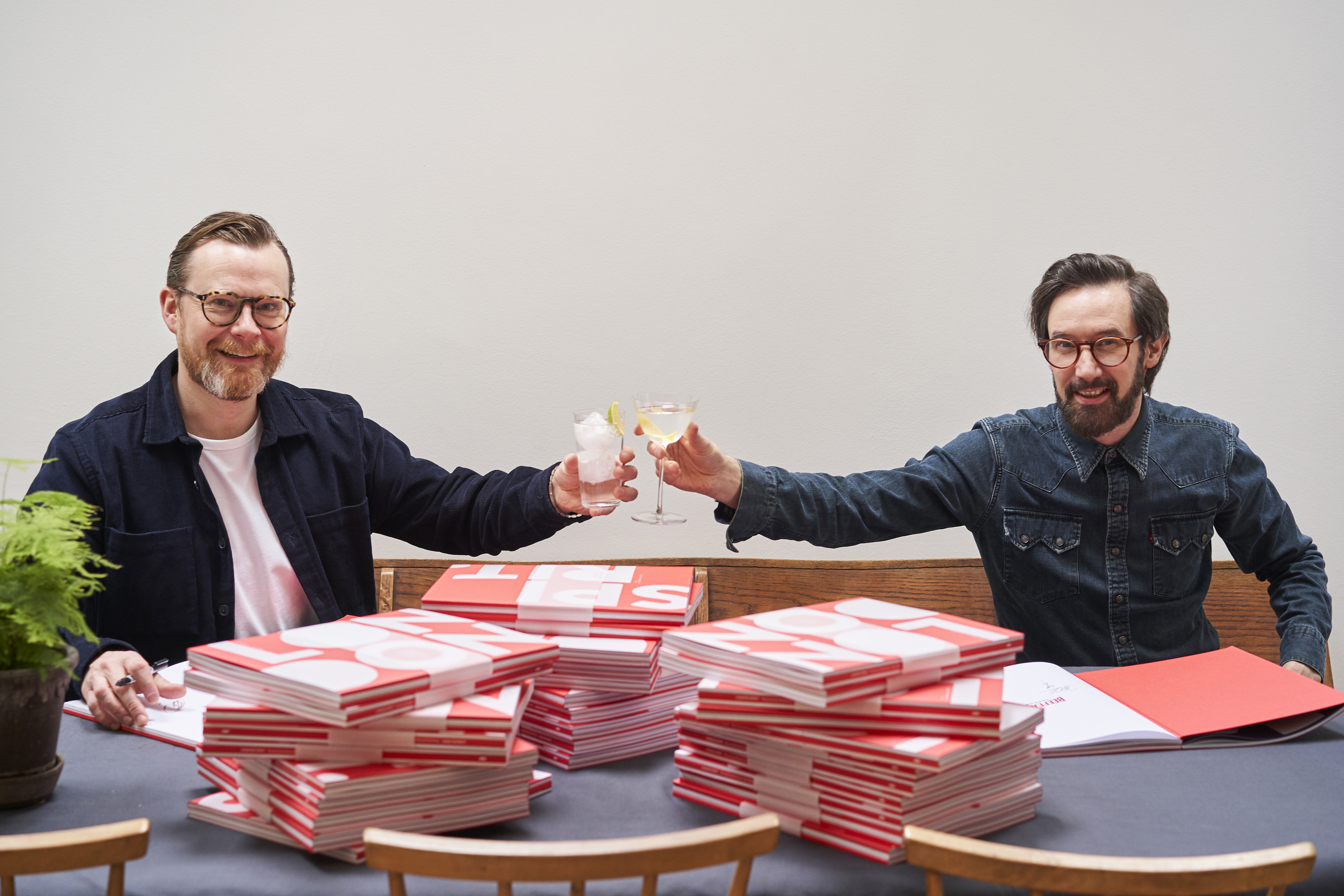 Beefeater book signing with Joel Harrison and Neil Ridley