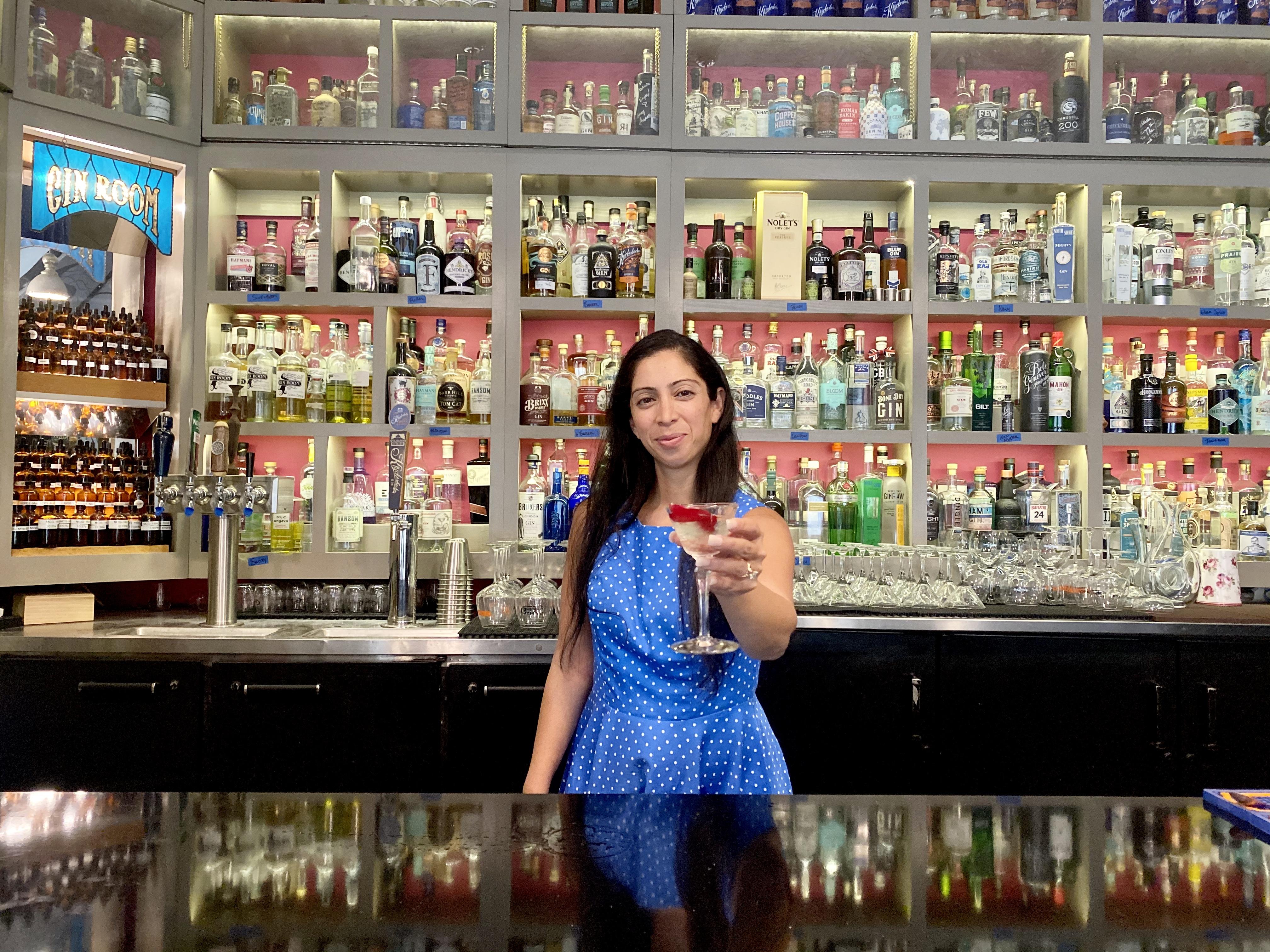 Natasha Bahrani at The Gin Room, St. Louis