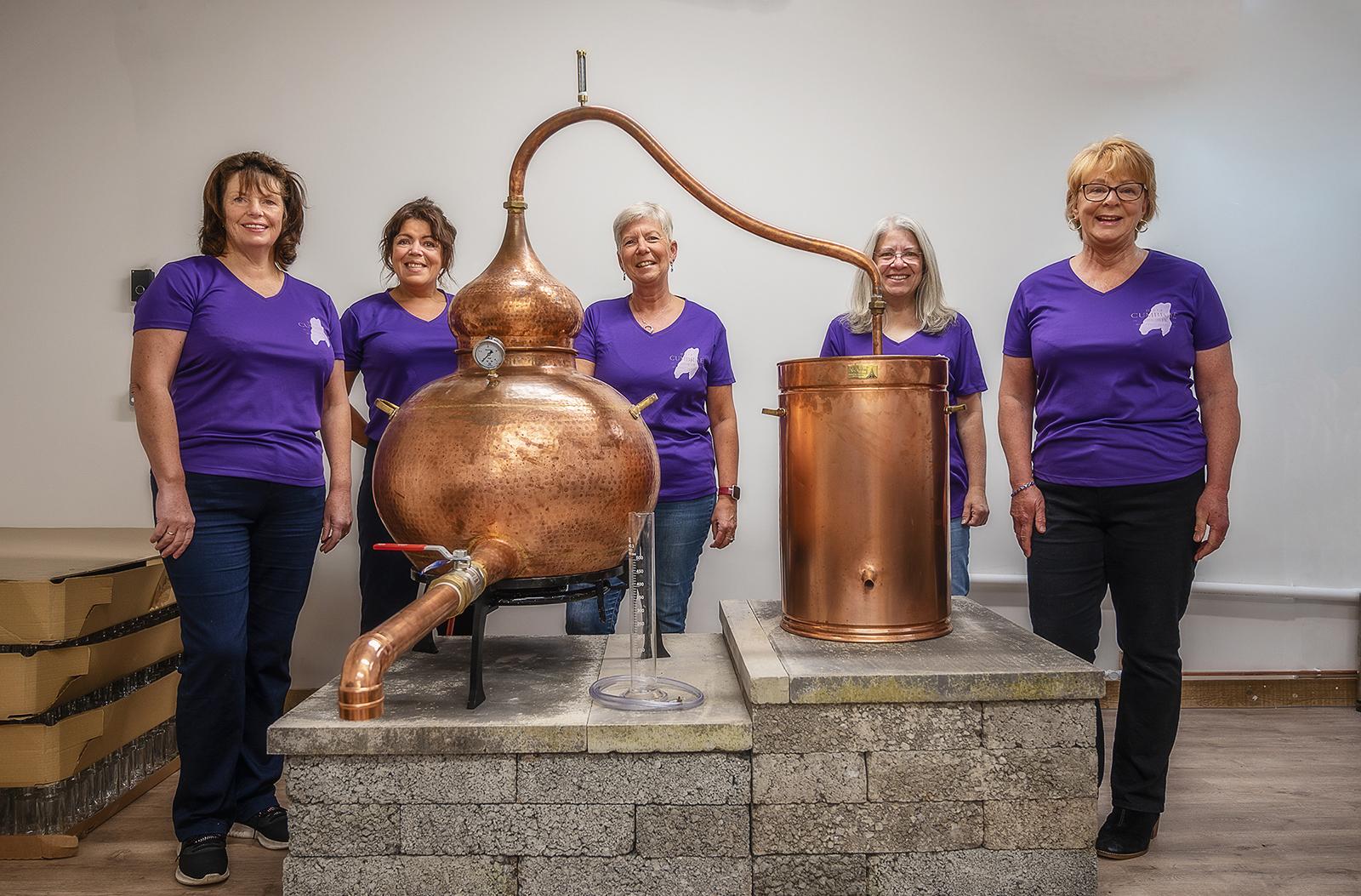 Isle of Cumbrae Distillers team