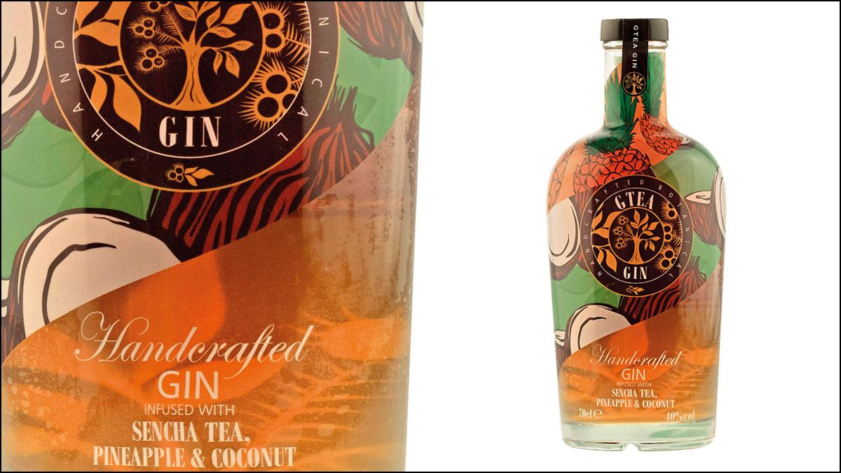 Gtea Sencha Tea Pineapple and Coconut Gin