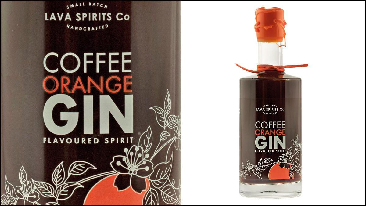 Lava Spirits Co Coffee Orange Gin