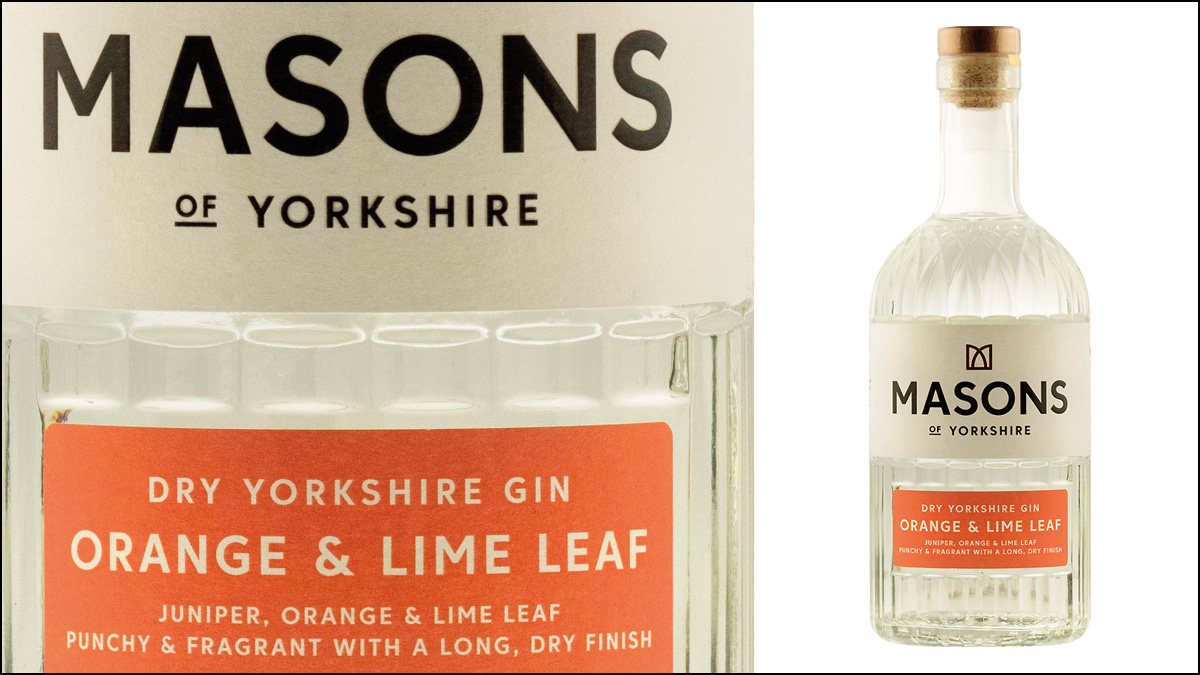 Masons of Yorkshire Orange and Lime Leaf Gin