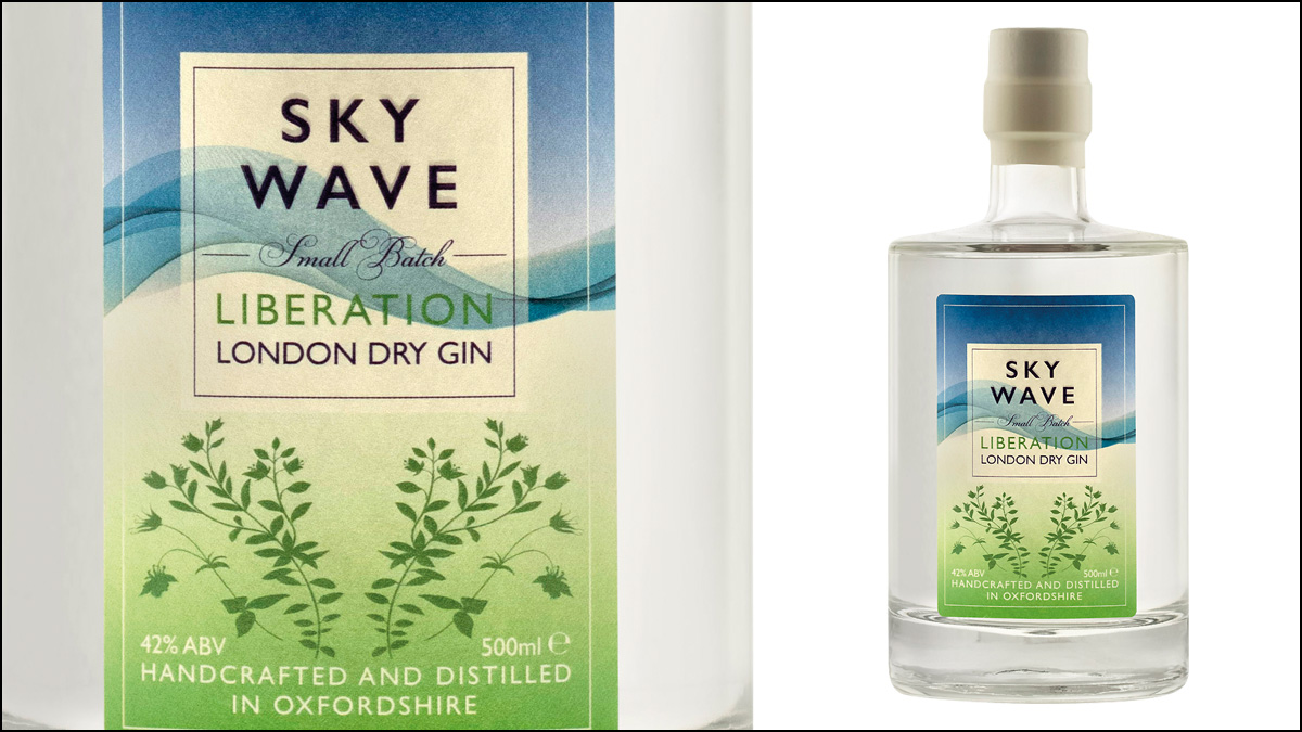 Sky Wave Gin Liberation Dry Gin