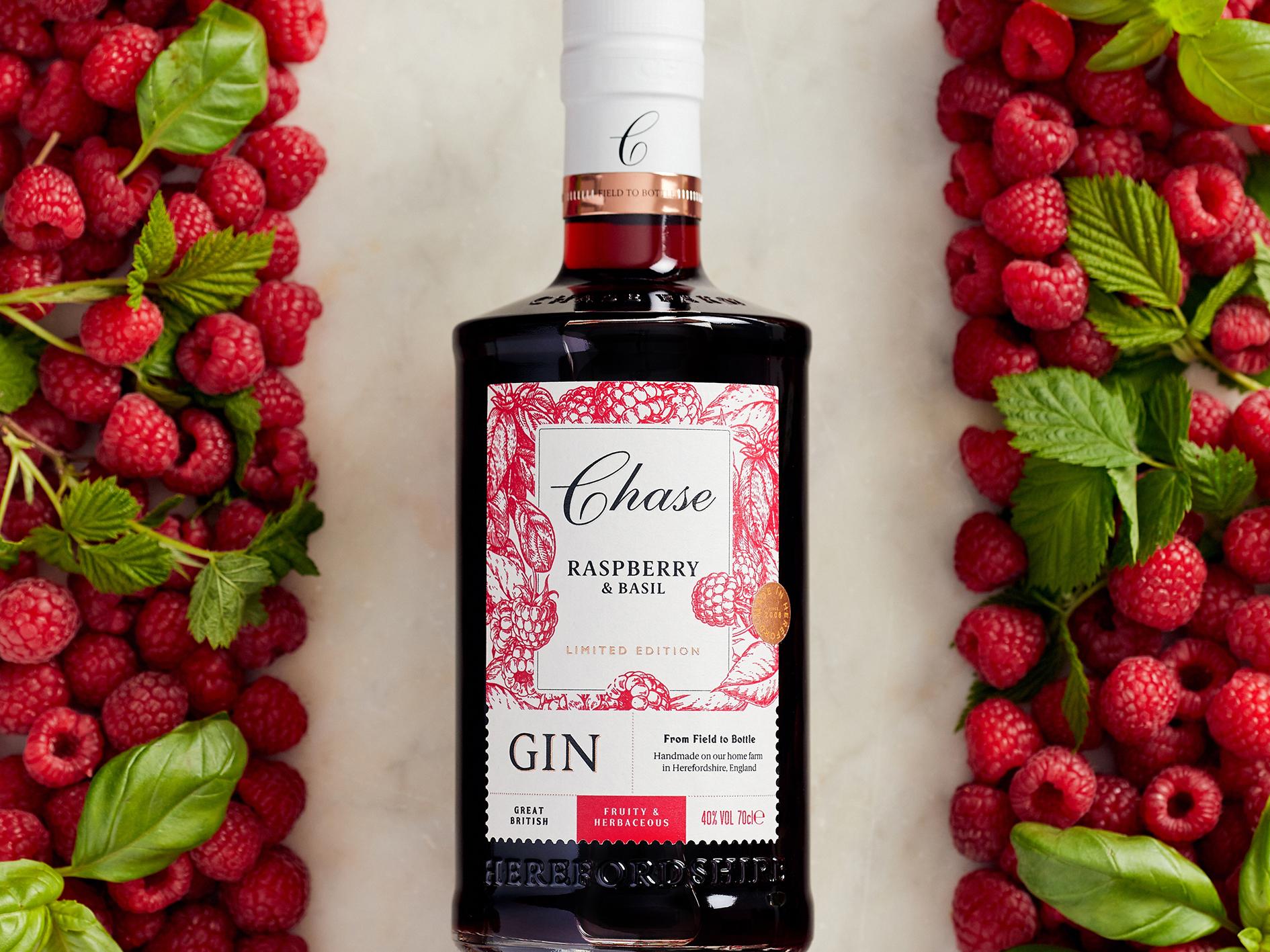 Chase Raspberry and Basil Gin