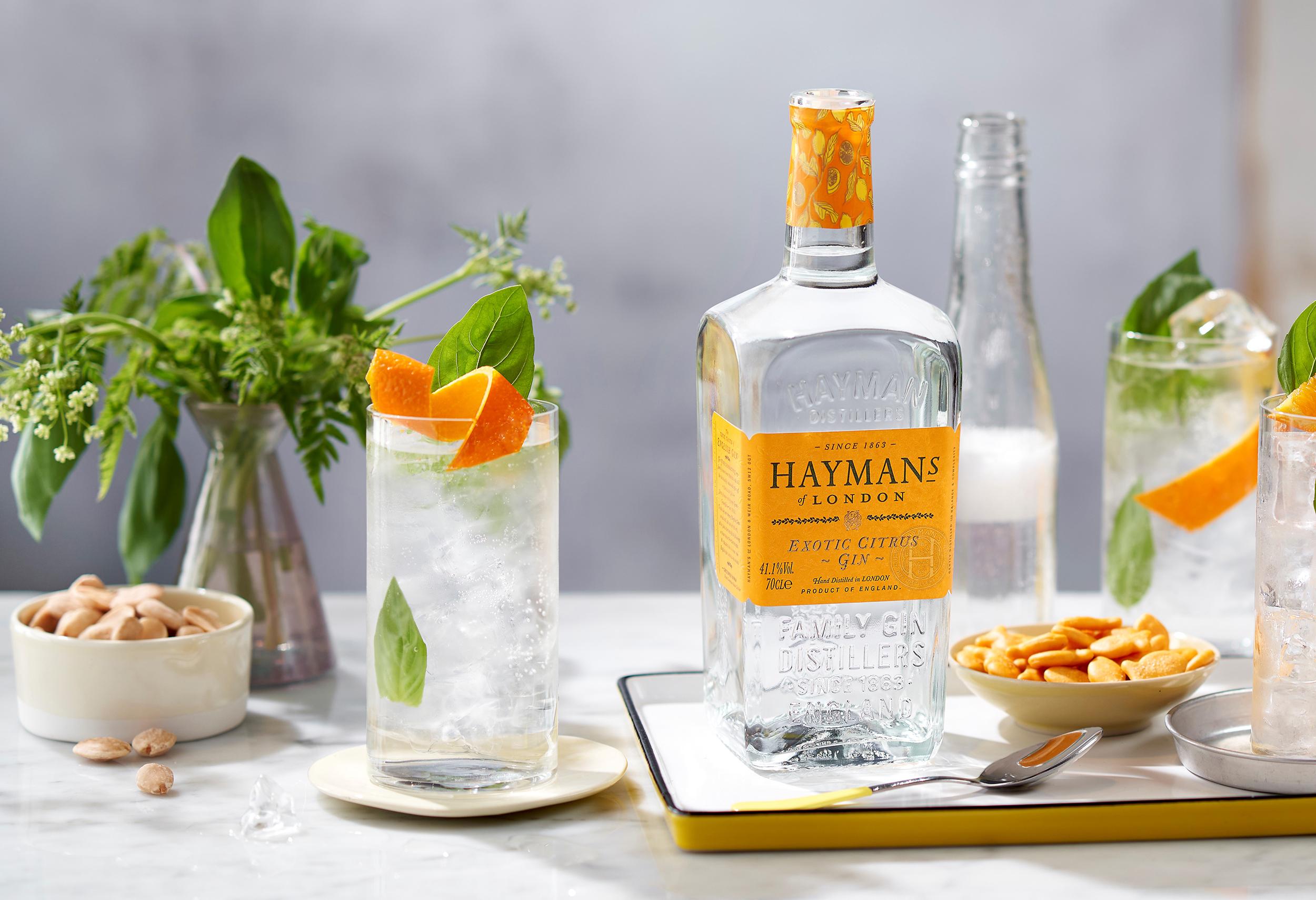 Hayman's Exotic Citrus G&T