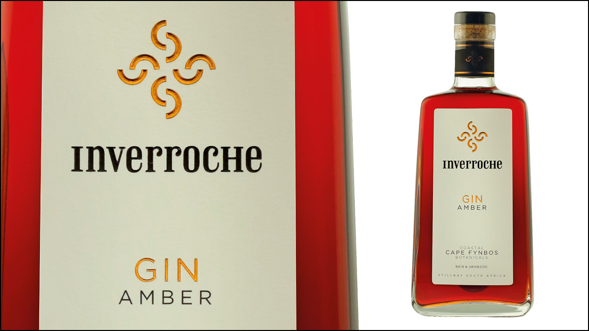 Inverroche Fynbos Collection Amber Gin