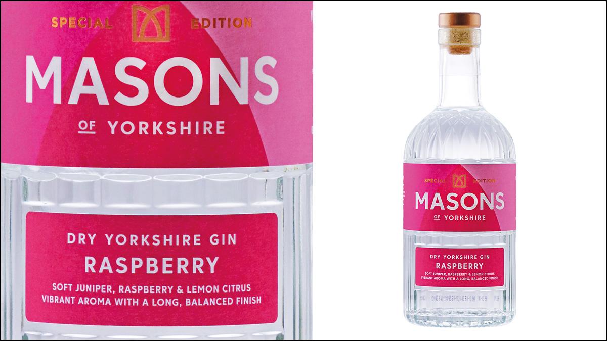 Masons of Yorkshire Raspberry Gin