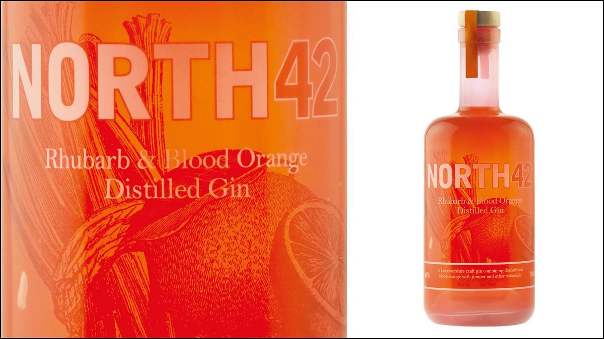 North42 Rhubarb & Blood Orange Distilled Gin