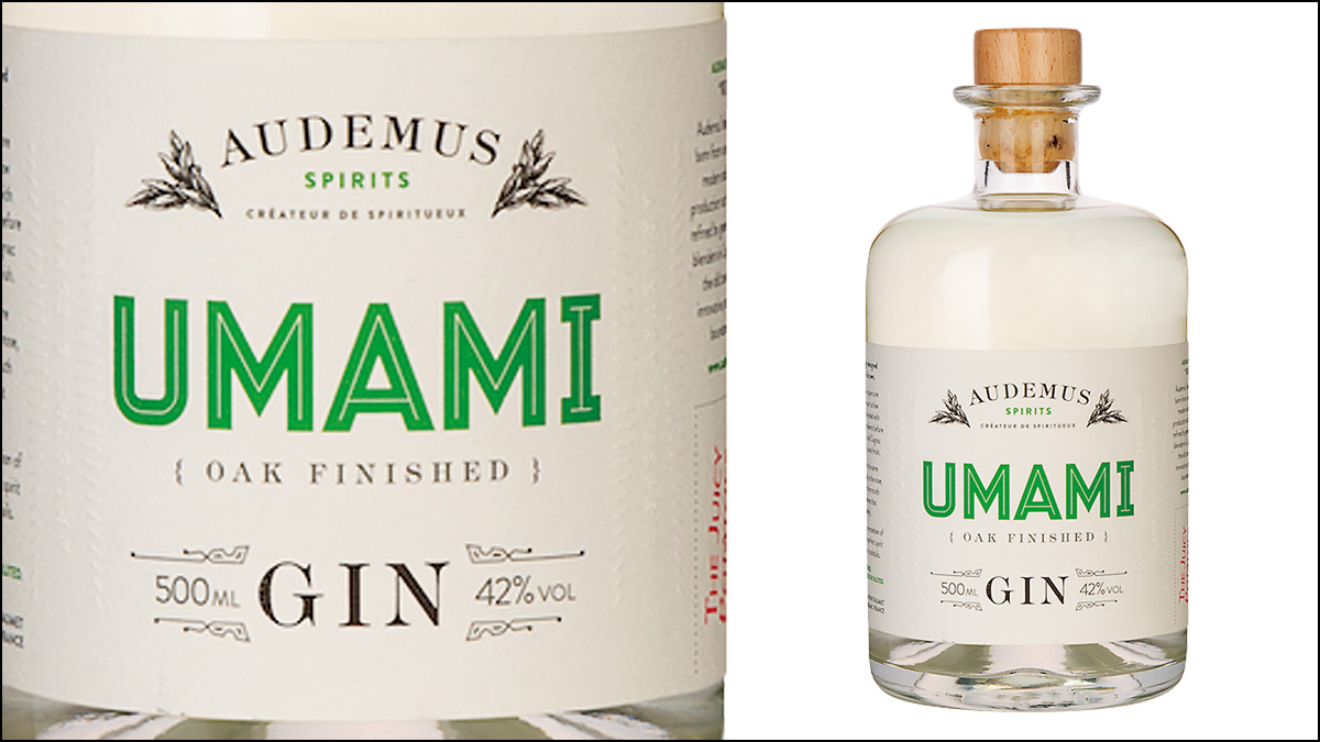 Audemus Spirits Umami Gin