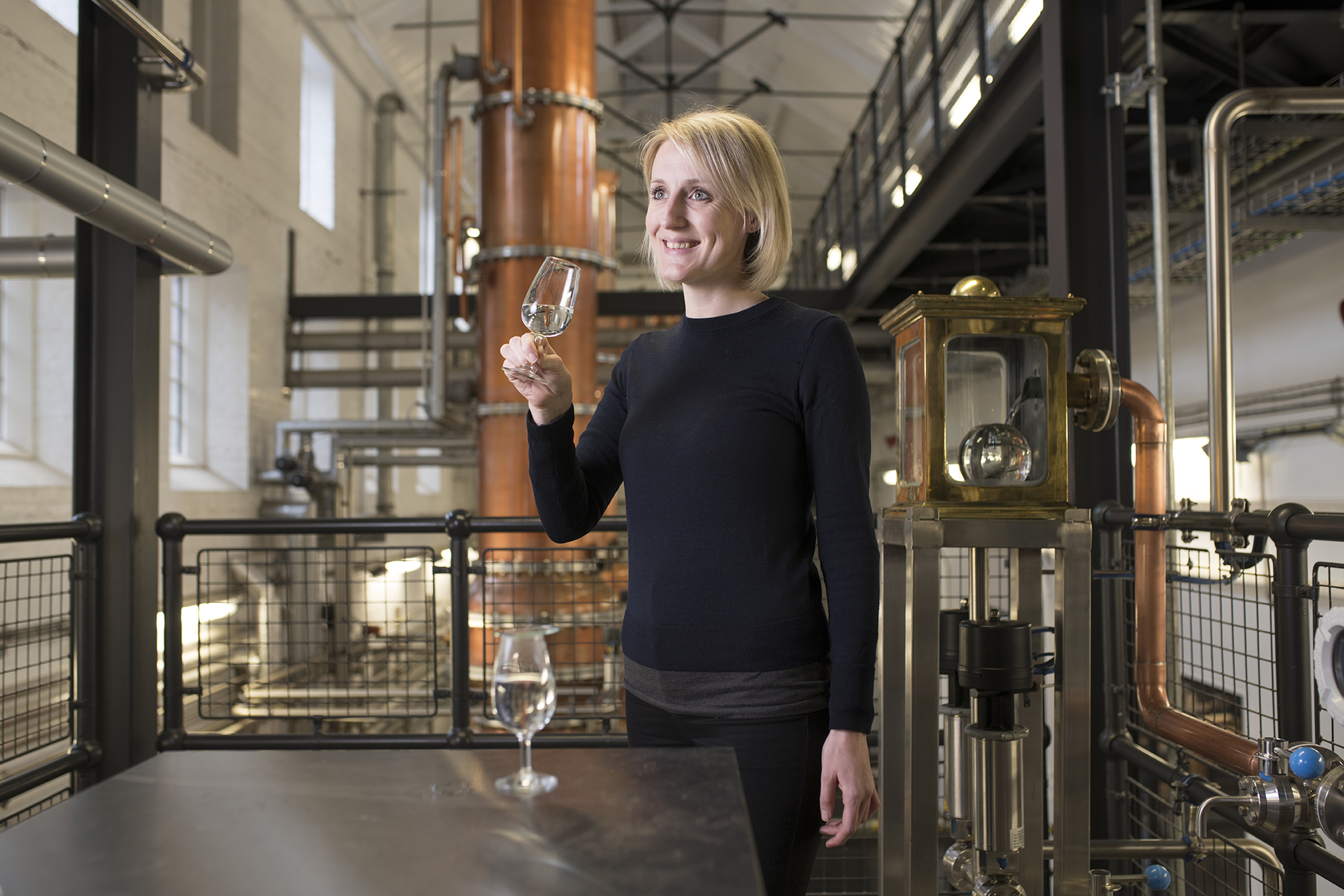 Dr Anne Brock, Bombay Sapphire master distiller