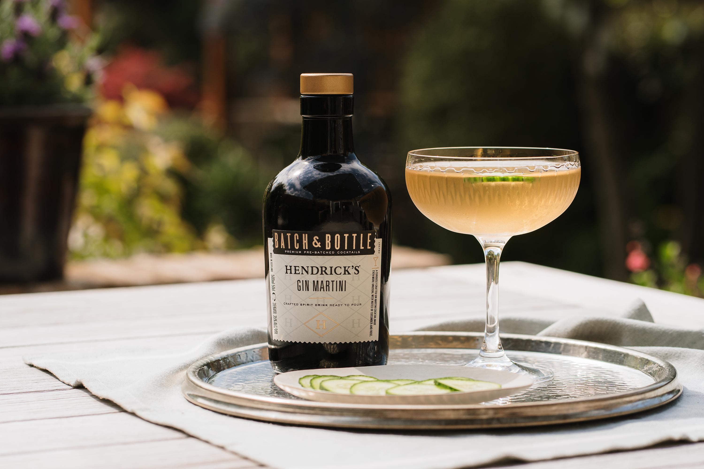 Batch & Bottle Hendrick's Gin Martini