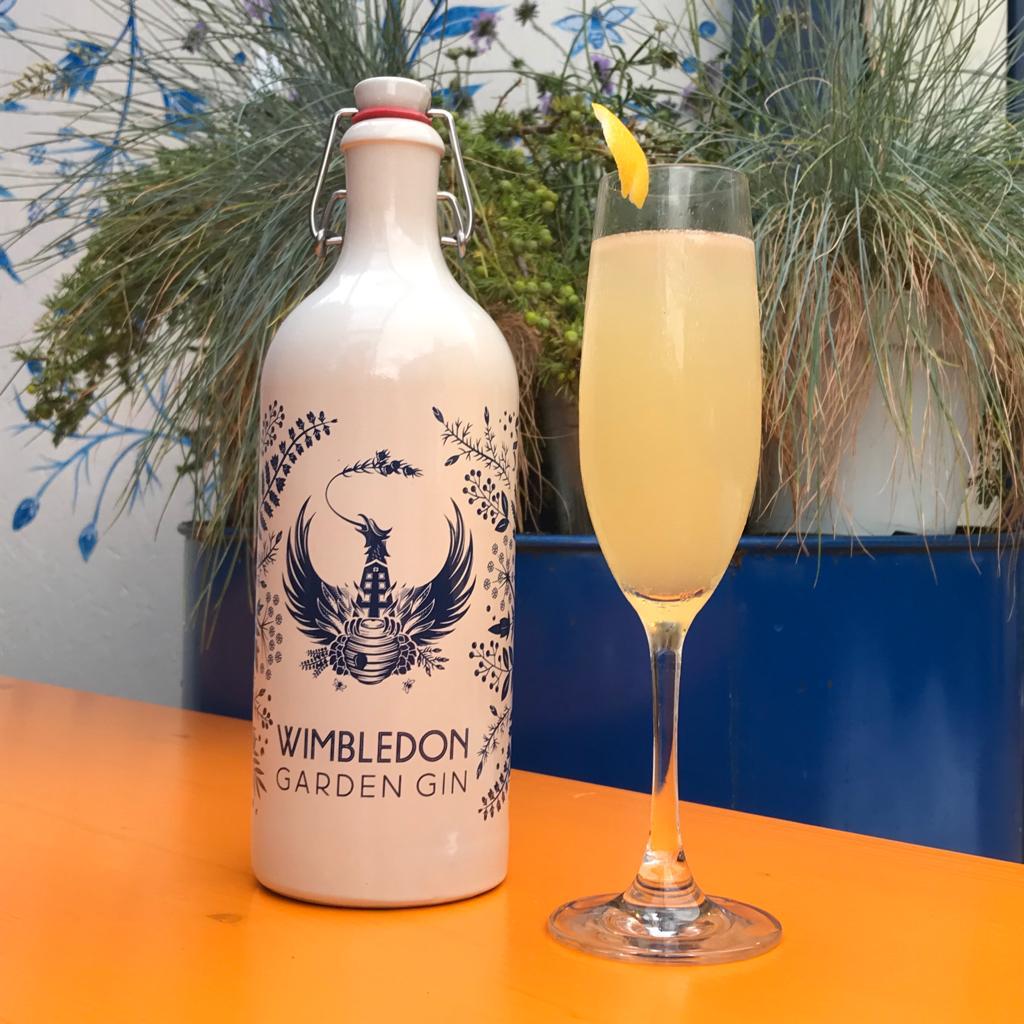 Wimbledon Bloom cocktail