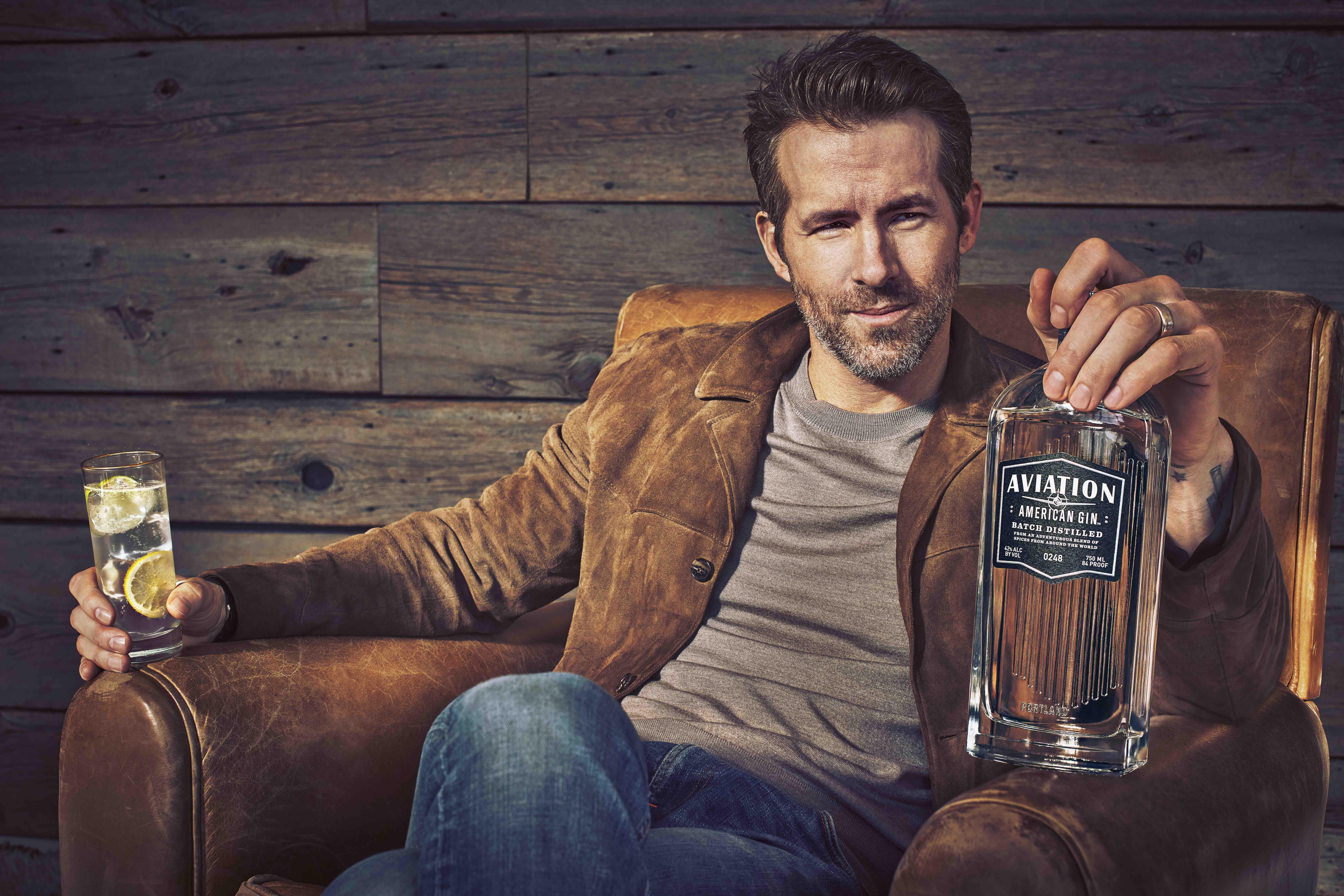 Ryan Reynolds Aviation American Gin G&T
