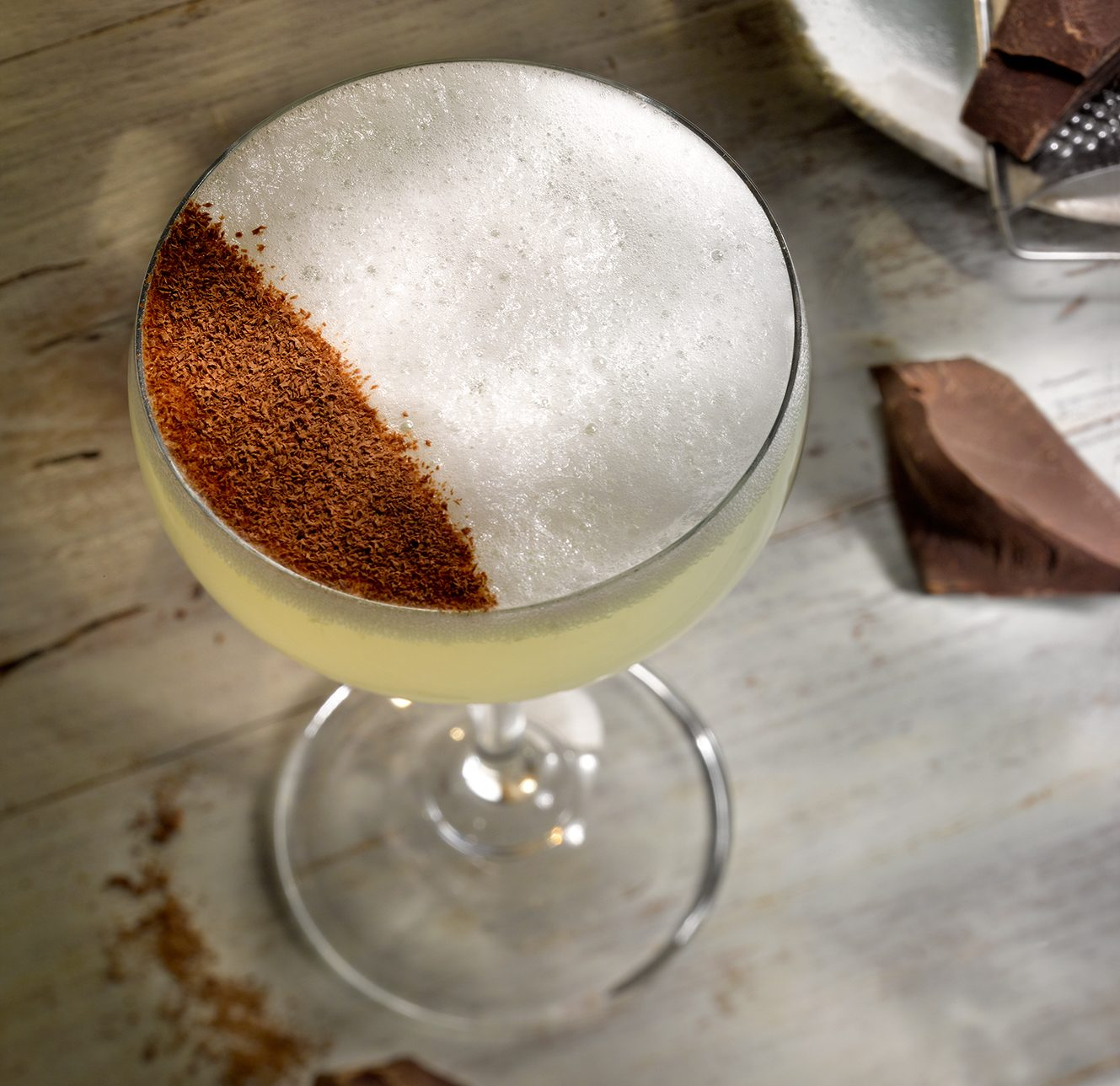 June by G'Vine Dark and Pear cocktail