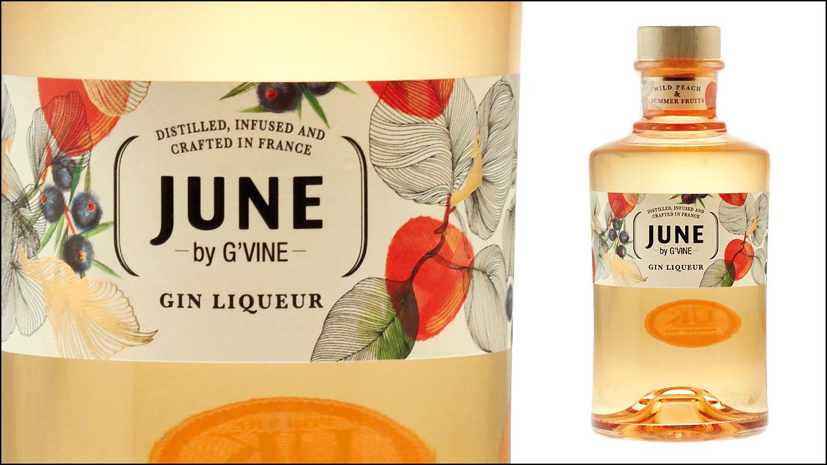G'Vine June Peach & Summer Fruits liqueur