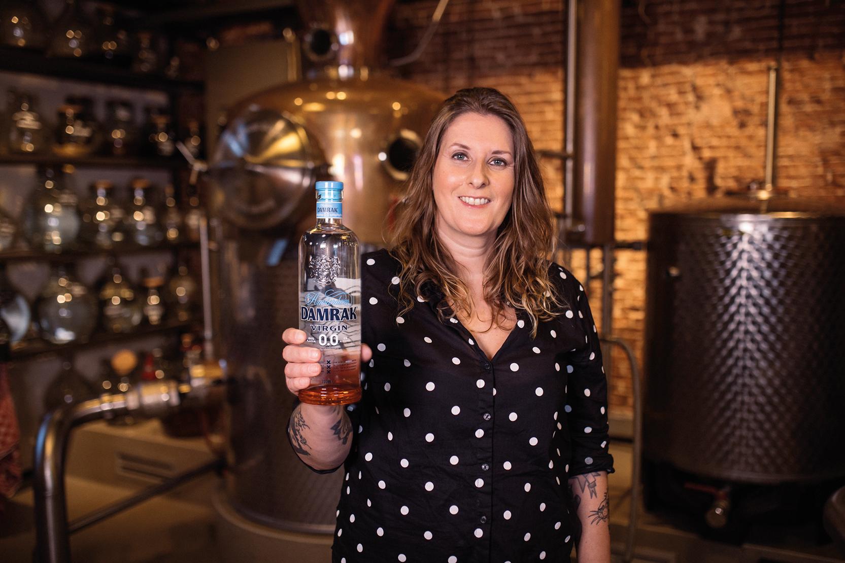 Monique ten Kortenaar, head distiller at Lucas Bols