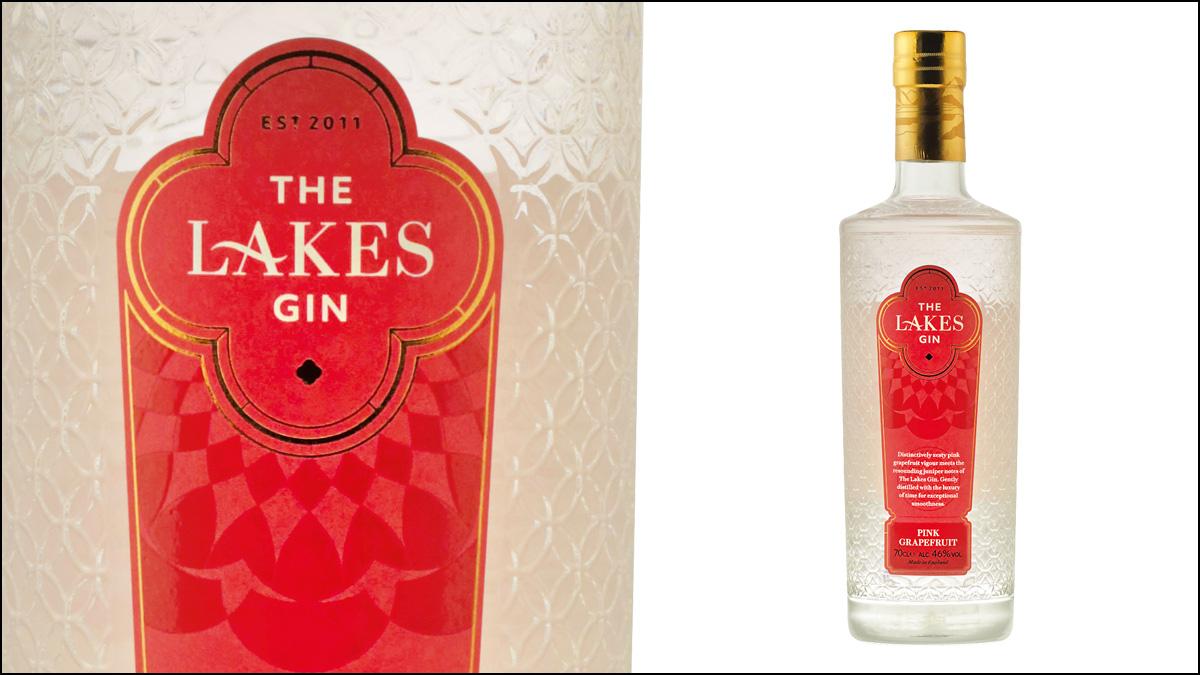 The Lakes Pink Grapefruit Gin