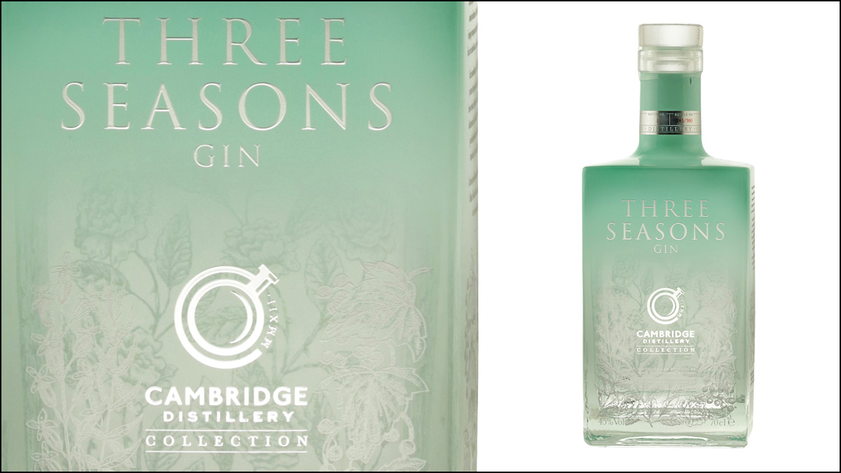 Cambridge Distillery Three Seasons Gin